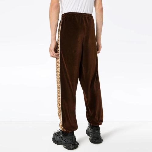 Men's Fashion Colorblock Loose Trousers YT009