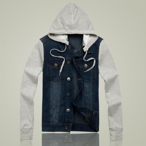 Denim Hoodie Jacket