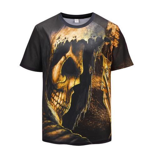 Deaf Printed Short Sleeve T-shirt