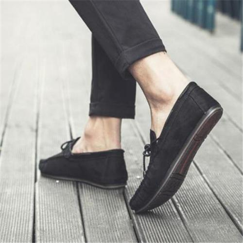 Casual Fashion Vacation Solid Color Men Flat Shoes