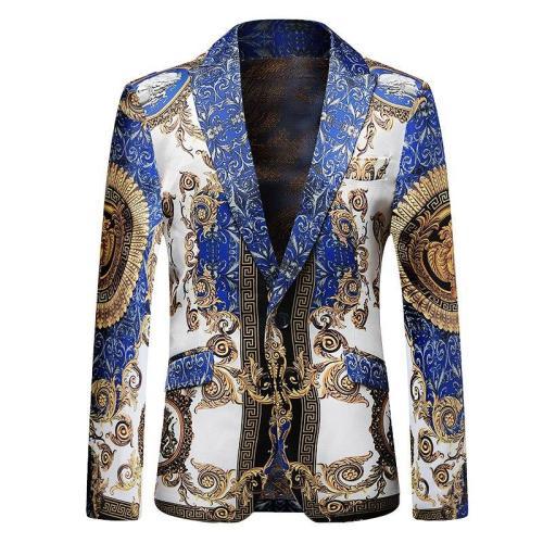 Luxury Party Performance Host Men Suit Fit Slim Bling Sequins Designer Men Coat In Stock Free Shipping