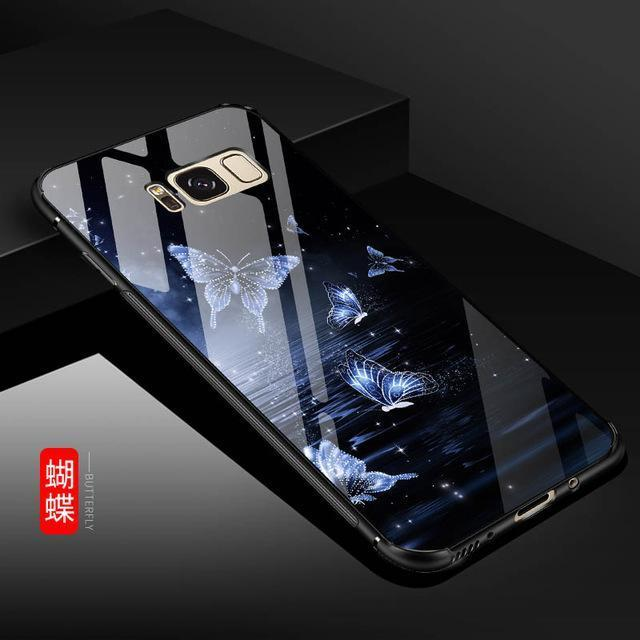 2018 Newest Luxury Marble Print Cover for Samsung