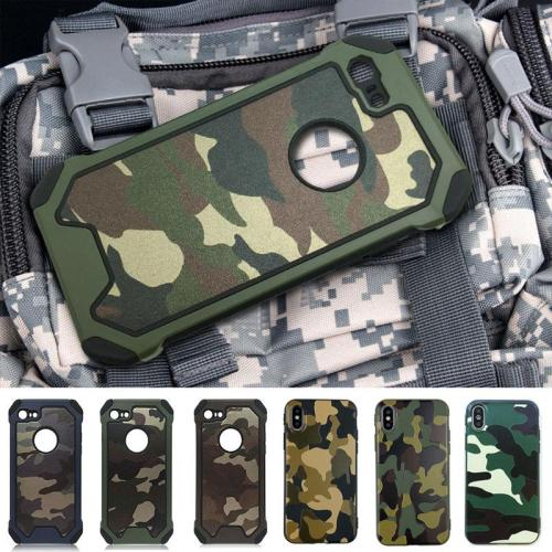 Army Camo Pattern Protective Phone Cases For iphone