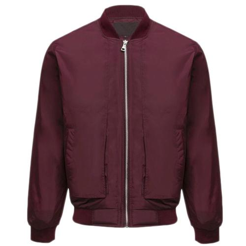 Casual Stand Collar Cuffs Men Jacket Coats 3294
