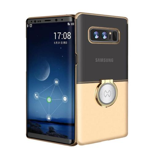 Luxury Brand Magnetic Ring Holder PC Cover For Samsung Galaxy Note 8
