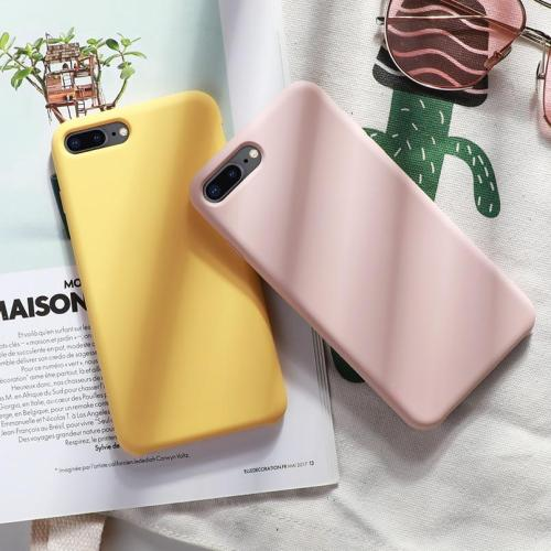 Original Silicone Shockproof Case For iPhone