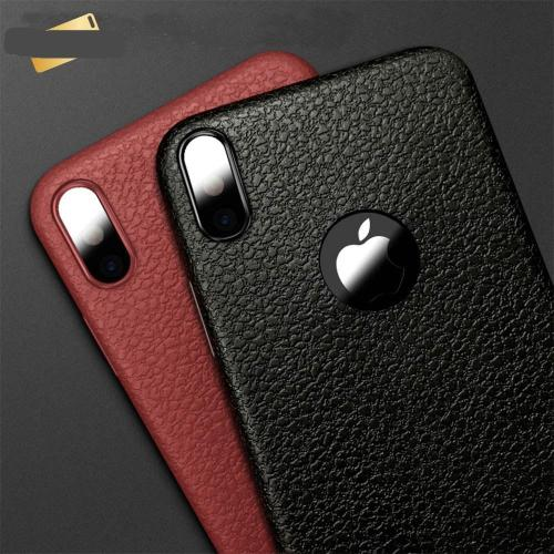 Ultra-thin Business PU Leather Phone Case For iPhone