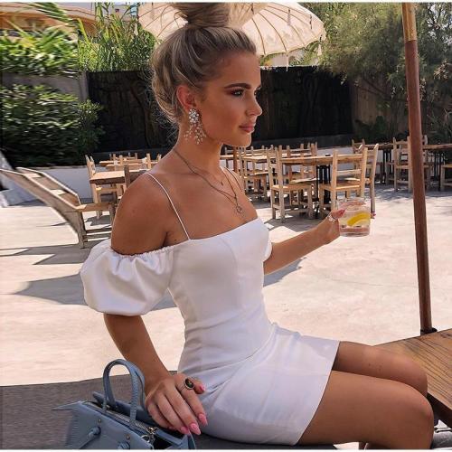 French romance party night bodycon summer dresses women pink top Elegant off shoulder club Slim dress robe vestido vintage size