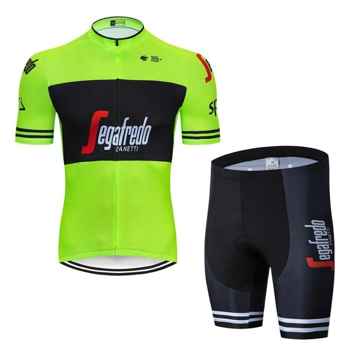 2019 Cycling Jersey Summer Team treking Black red Short Sleeves Clothing Ropa Ciclismo Cycling Clothing Sports Suit