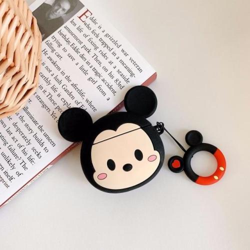 Cartoon Mouse 3D Silicone AirPods Case