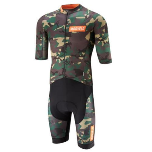 MORVELO 2019 new mens triathlon suit cycle clothing MTB bike skinsuit ciclismo body breathable sports swimming running GEL