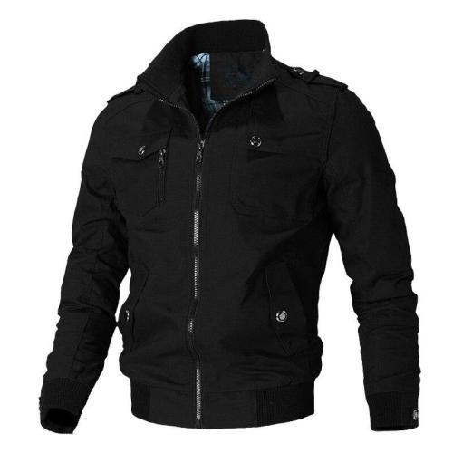 Chaqueta Casual para hombre de Mountainskin, chaquetas militares del Ejército para primavera y otoño, abrigos para hombre, ropa