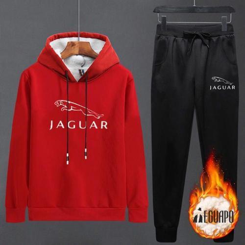 Plus Velvet Autumn And Winter Thick Casual Sportswear Men's Suit