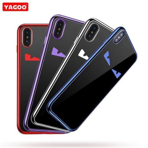 Ultra Thin 360 shockproof slim phone case for iphone X
