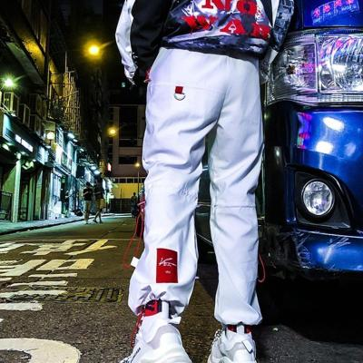 Trendy Nine-Point Street Loose Straight Closed Casual Men's Long Pants