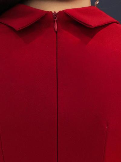 Evening Dress Half-Sleeve Elegant Robe De Soiree Tassel Zipper Women Party Dresses 2019 Plus SizeV-neck Sequin Formal Gowns F047
