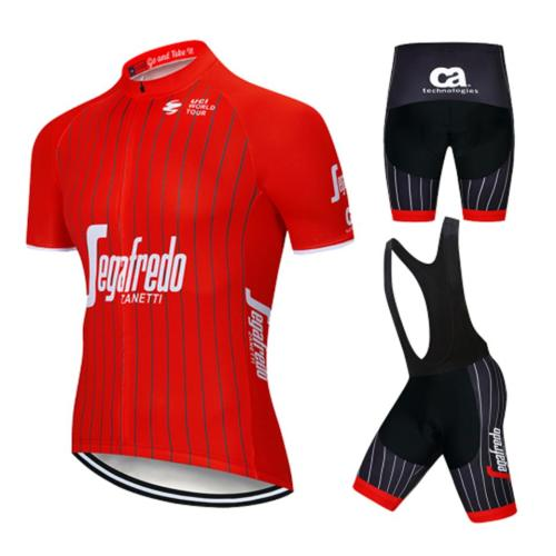2020 Cycling Jersey Summer Team treking red Short Sleeves Clothing Ropa Ciclismo Cycling Clothing Sports Suit