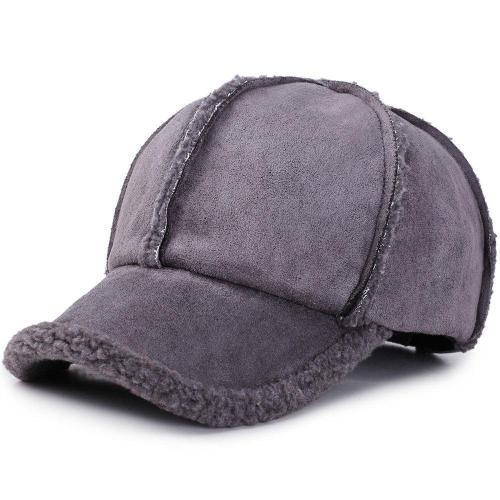Unisex Winter Adjustable Cotton Warm Comfortable Vintage Baseball Cap