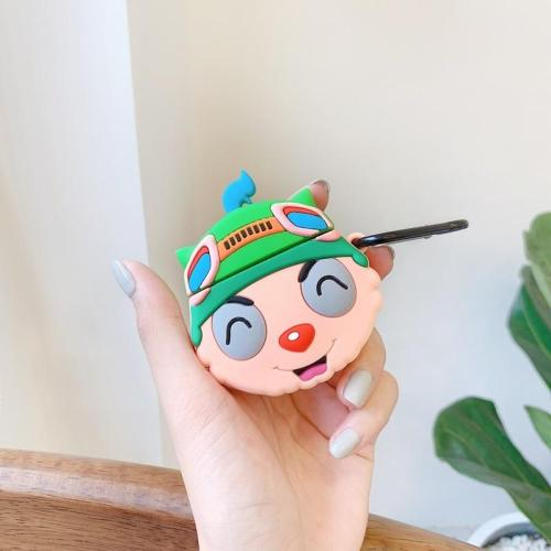 LOL Swift Scout Teemo AirPods Case Silicone Shockproof Cover