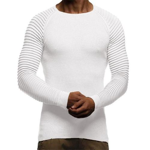 Fashion Casual Youth Slim Plain Thermal Long Sleeve Sweater Top