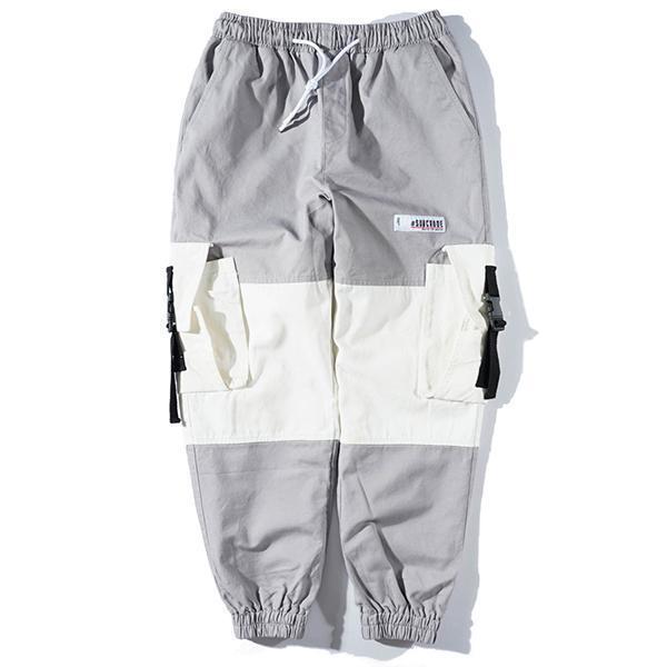 Sports Fashion Hip Hop Color Matching Loose Pants