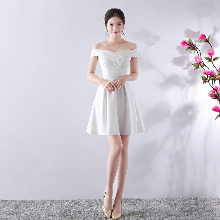 One word led short evening dress fashion prom Formal evening dresses elegant Slim fit party evening gowns vestido de festa