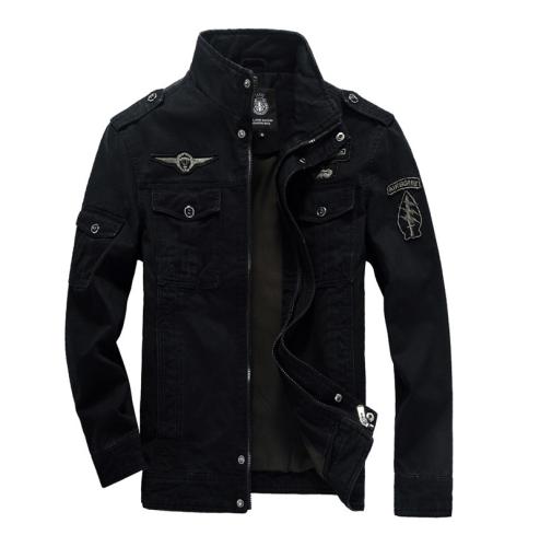 Fashion Mens Cotton Flight Jacket