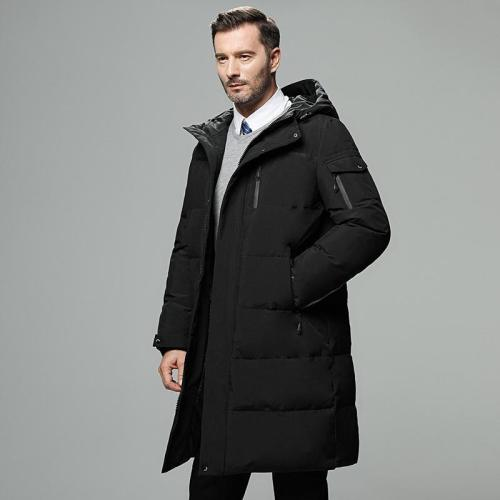 Men's Winter Thick Windbreaker Top Quality 90% White Duck Down Jacket