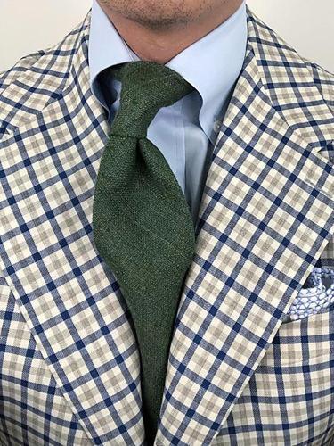 Men's fashion business solid color tie LH011