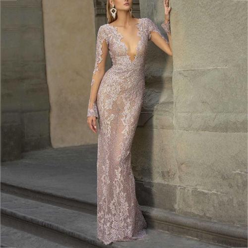 Women's sexy sequin dress