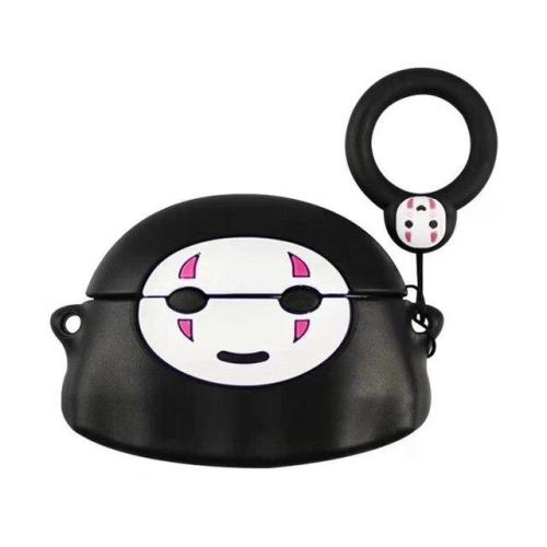 Spirited Away No Face man AirPods Pro Charging Headphones Cases