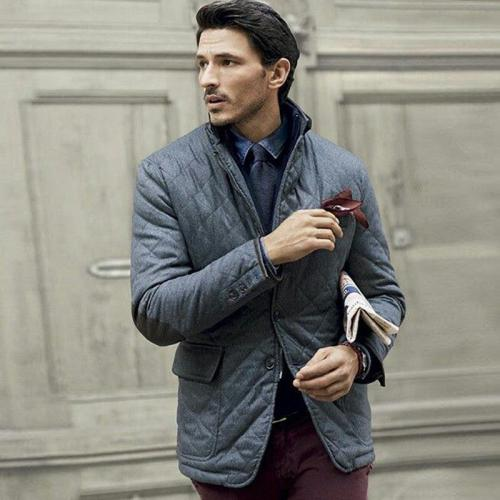 Fashion Quilted Quilted Warm Coat