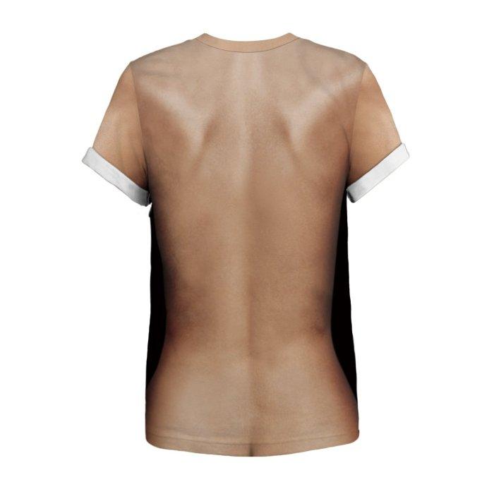 3D Human Body Marijuana Funny Women T-shirt Loose Casual Novelty Short Sleeve Tees Top
