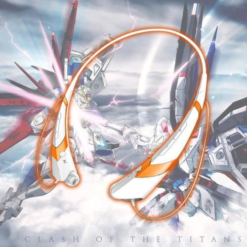 Anime Gundam Neckband Wireless Stereo Bluetooth Earphones