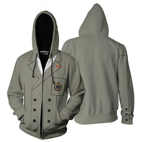 Persona 5 Zip Hoodies Casual Sweatshirt Jacket