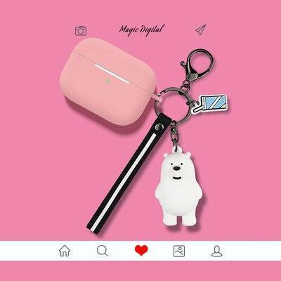 Kawaii Card Captor Sakura AirPods Pro Case Charging Headphones Cases For Airpod Protective Cover
