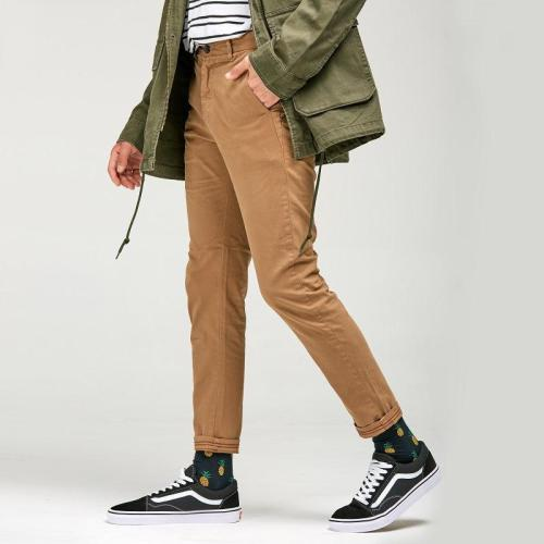 Men's Casual Pants Simple Conical Feet Pants