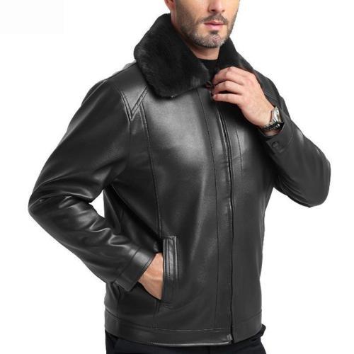 Business PU Leather   Jacket