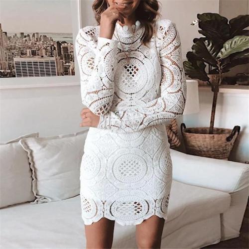 Women's Sexy Lace Cutout Dress