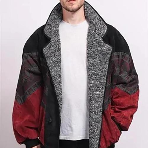 Men's Vintage Deerskin Colouring Short coat