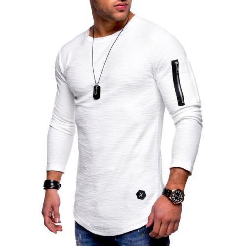 Men's Casual Fashion Long Sleeve T-Shirt