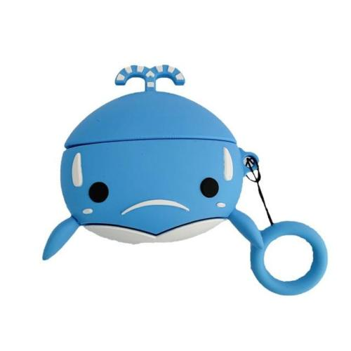 Kawaii Whale AirPods Pro Case Silicone Shockproof Cover