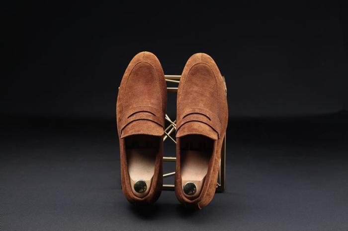 Comfortable Men Loafers Luxury Flats Shoes