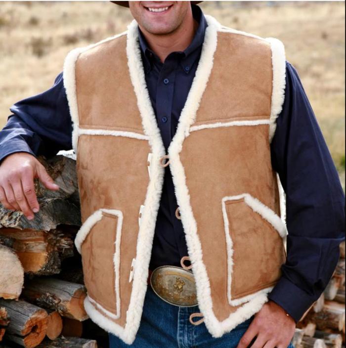 Casual jacket vest man