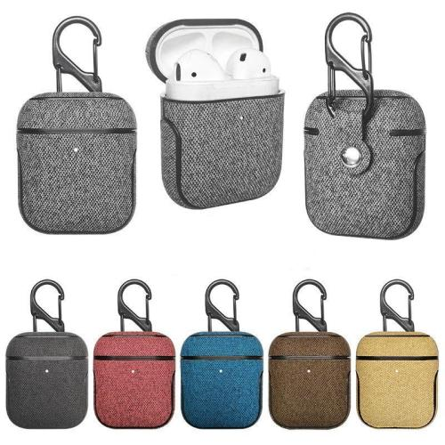 Business PU Leather AirPods Case Protective Cover