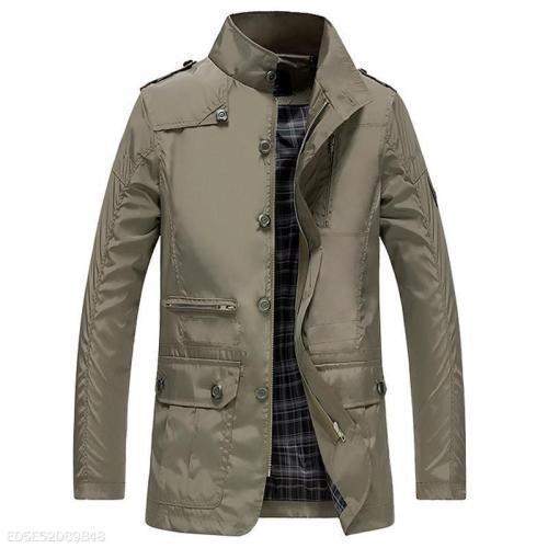 Mens Windproof Casual Jacket