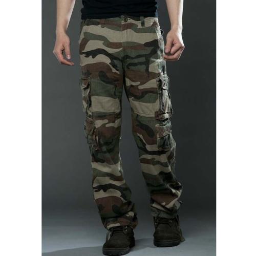 Men's Fashion Multi-Pocket Overalls