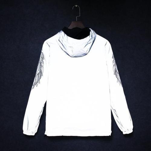 3m Reflective Jacket Men Anorak Windbreaker Hip Hop Streetwear Mens Jackets Modis College Male Jackt Street Style Rave Clothes