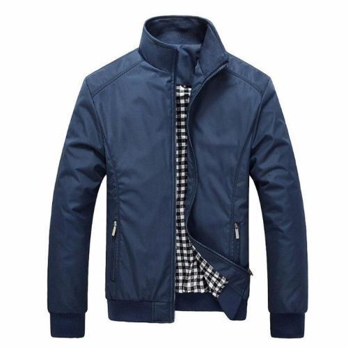 Men's Bomber Polo Windbreaker Jackets Solid Loose Spring Sportswear Casual Outwear mens jackets and coats male Overcoat 5xl 6xl