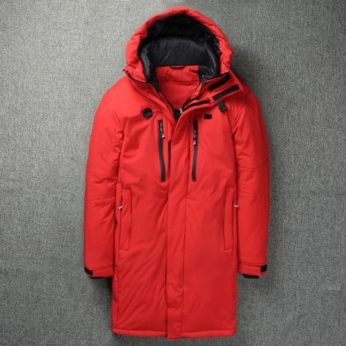 2019 Winter Long Duck Down Jacket Men Outdoor skiing Thick Men's Down Jacket Warm Windbreaker X-Long Coat for Men